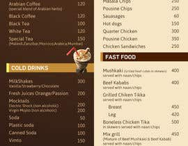#22 para Design  Food and Beverage Menu for Shisha Sports Lounge -- 2 de mufzilkp