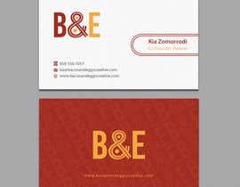 #103 untuk Design the back of a business card oleh einsanimation