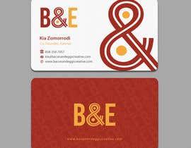 #105 for Design the back of a business card af einsanimation