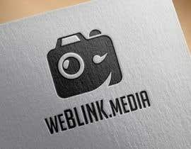 Nro 23 kilpailuun Design a Logo for 'weBlink.Media' käyttäjältä dimmensa