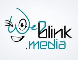 #24 para Design a Logo for 'weBlink.Media' por dimmensa