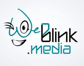 dimmensa tarafından Design a Logo for 'weBlink.Media' için no 24