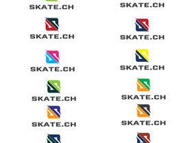 """Nro 105 kilpailuun Design eines Logos for """"skate.ch"""" käyttäjältä james97"""