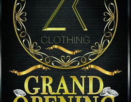#55 for Design a Flyer for grand opening of clothing store af kam3dyard