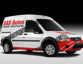 #5 para Vehicle Graphics  Van Signage designs por rogeriolmarcos