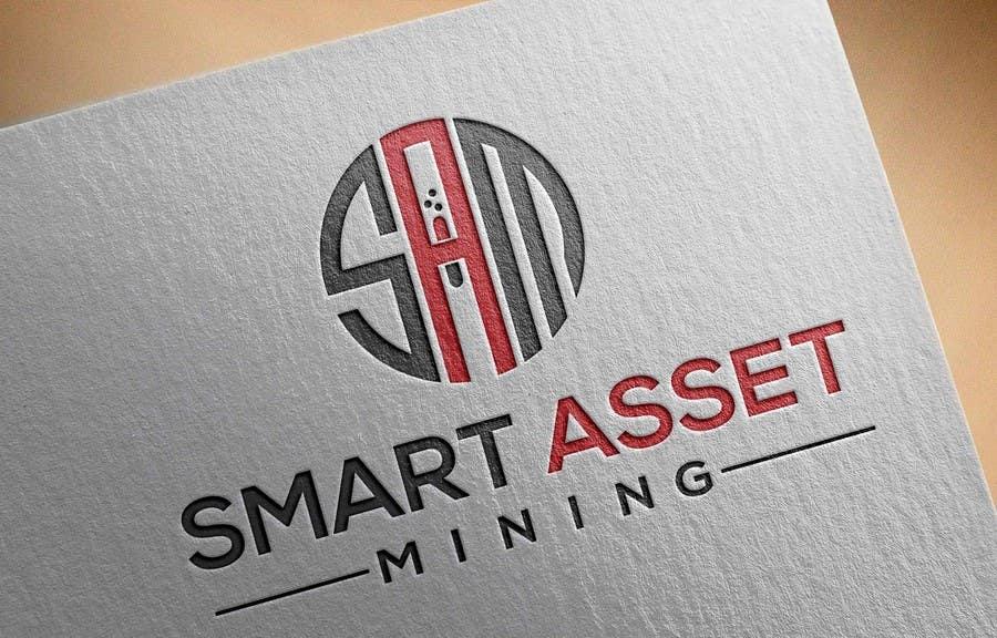 Kilpailutyö #137 kilpailussa Design a Logo for Smart Asset Mining (SAM)
