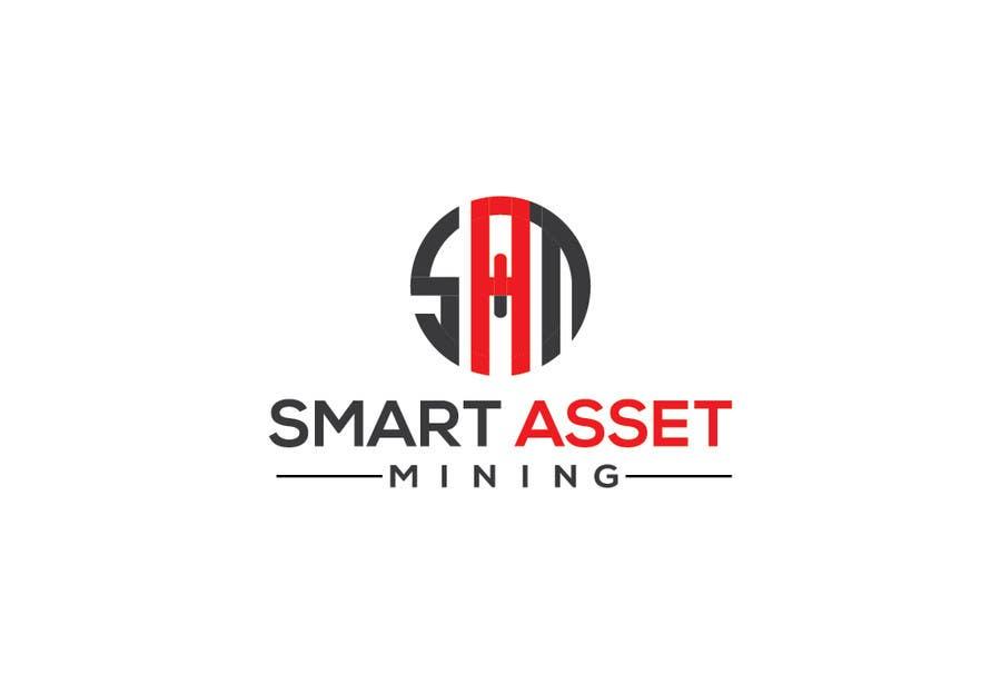 Kilpailutyö #139 kilpailussa Design a Logo for Smart Asset Mining (SAM)