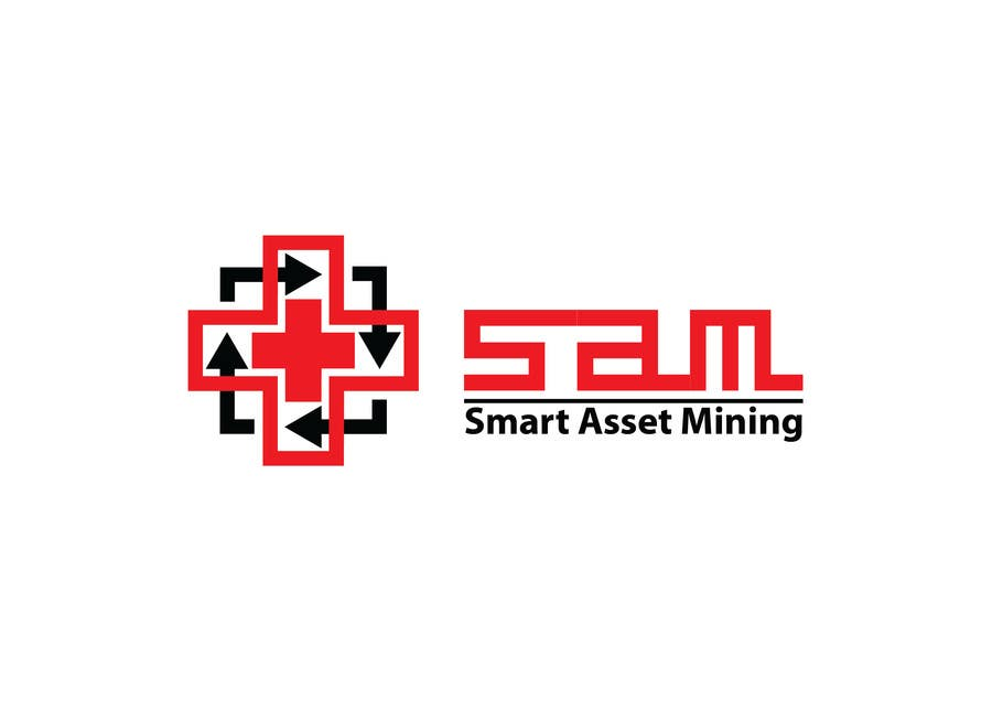 Kilpailutyö #180 kilpailussa Design a Logo for Smart Asset Mining (SAM)