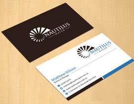 dinesh0805 tarafından Design some Business Cards for Nautilus Water için no 31
