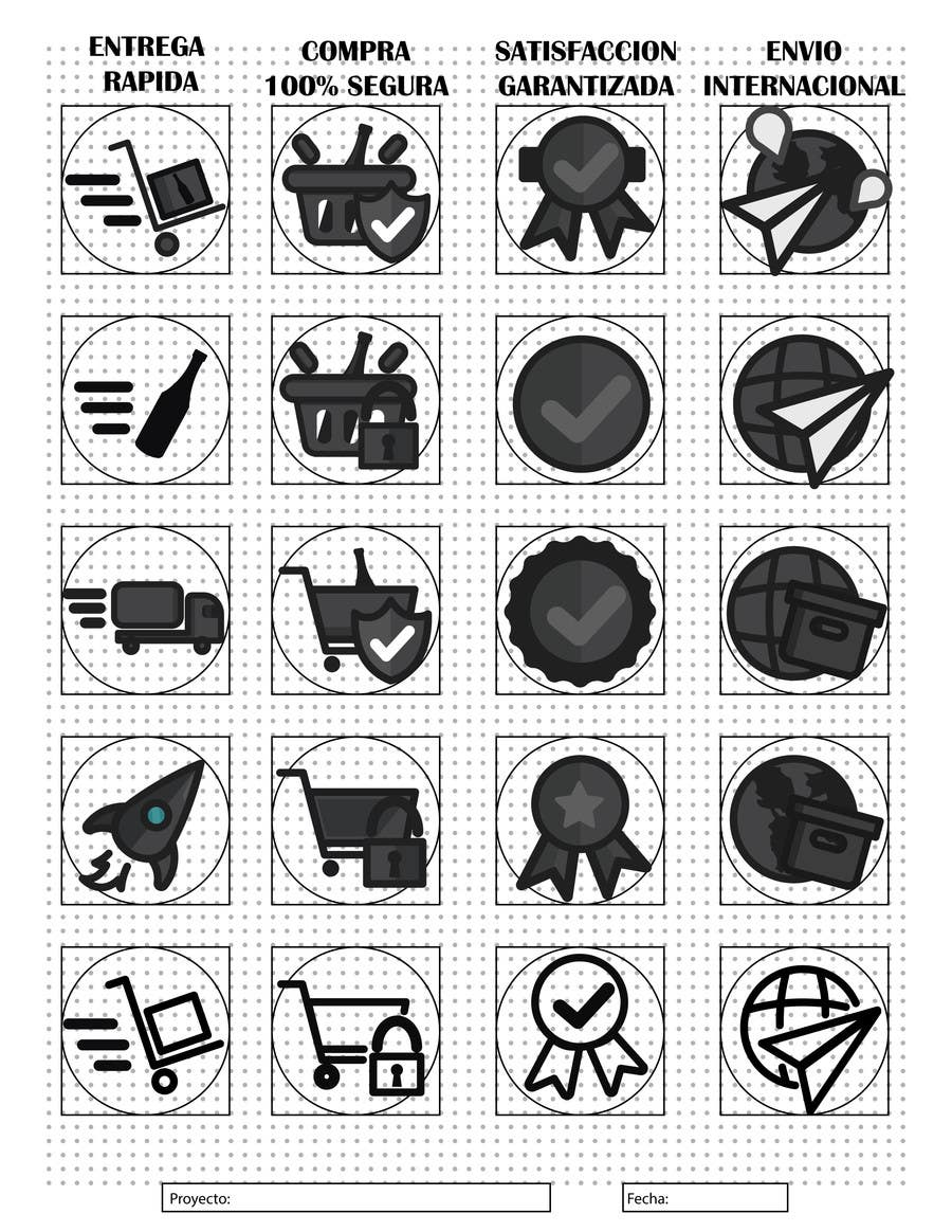Kilpailutyö #2 kilpailussa Diseño Logos Web Vinos