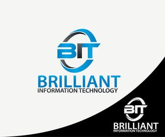 #32 untuk Design a Logo for Brilliant Information Technology oleh alikarovaliya