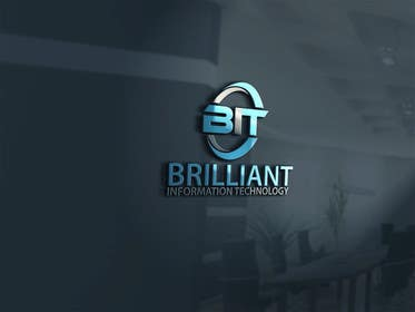 #37 untuk Design a Logo for Brilliant Information Technology oleh alikarovaliya