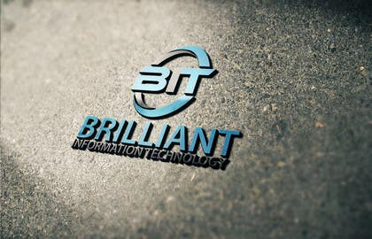 #38 untuk Design a Logo for Brilliant Information Technology oleh alikarovaliya