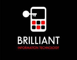 #18 cho Design a Logo for Brilliant Information Technology bởi MishaMashina