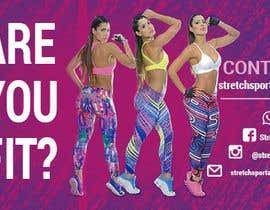 Nro 2 kilpailuun Design a Flyer for Women Sportswear käyttäjältä quantumsoftapp