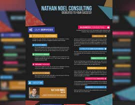 #3 untuk Design a Flyer for a Consulting Business -- 2 oleh akram1293