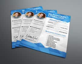 #10 for Design a Flyer for a Consulting Business -- 2 af abudabi3
