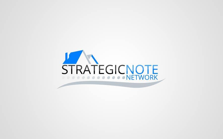Penyertaan Peraduan #13 untuk Design a Logo for Strategic Note Network