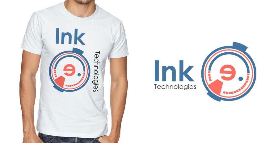 Penyertaan Peraduan #44 untuk Design a Professional but Cool T-Shirt for a Tech Company