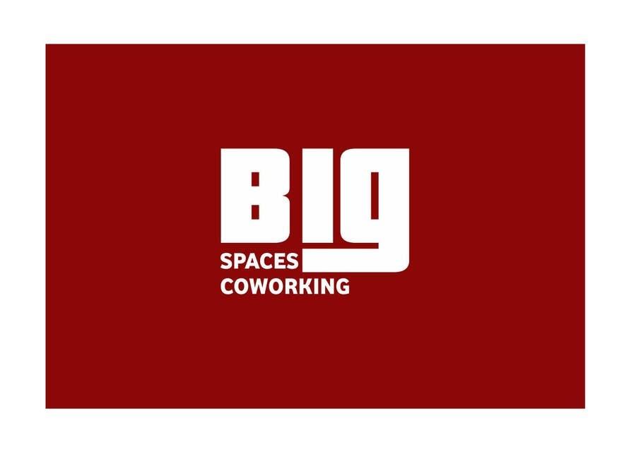 Kilpailutyö #71 kilpailussa Projetar um Logo for Big Spaces Coworking