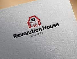 #31 untuk Design a Logo for Revolution House (Record Label) oleh bagas0774