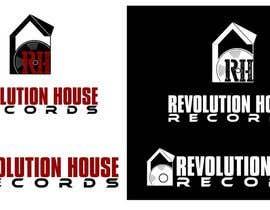VikiFil tarafından Design a Logo for Revolution House (Record Label) için no 43