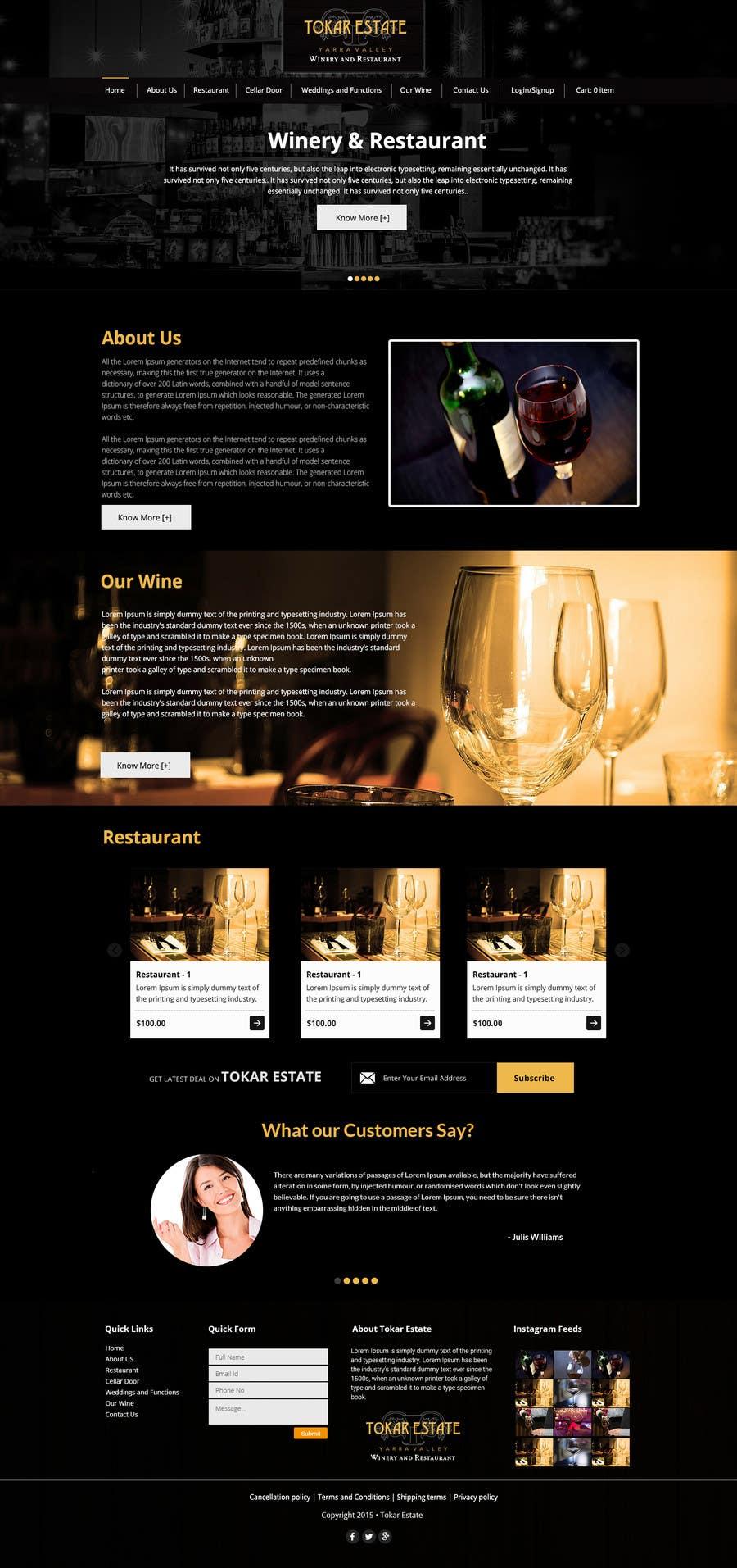 Contest Entry 15 for Design a Website
