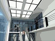 """Bài tham dự #13 về Graphic Design cho cuộc thi 3 DAYS CONTEST: Interior and Exterior Building View of any kind Hand Sketches or Sketchup """"look alike hand sketches """""""