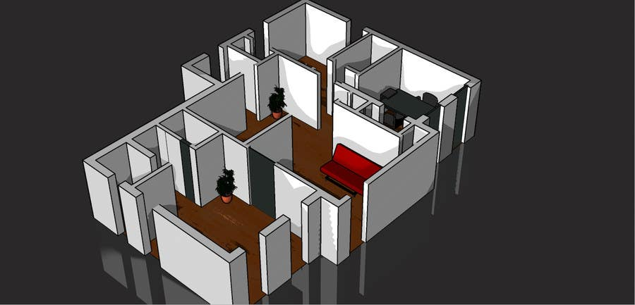 """Bài tham dự cuộc thi #                                        3                                      cho                                         3 DAYS CONTEST: Interior and Exterior Building View of any kind Hand Sketches or Sketchup """"look alike hand sketches """""""
