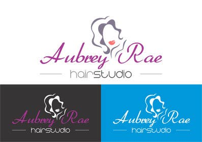 #45 cho Design a Logo for Aubrey Rae Hair Studio bởi BDamian