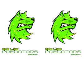 nº 30 pour Logo Design: Rice Lake Predators Football par zapanzajelo