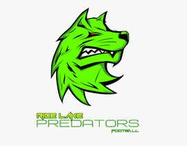 nº 52 pour Logo Design: Rice Lake Predators Football par zapanzajelo
