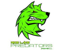 nº 57 pour Logo Design: Rice Lake Predators Football par zapanzajelo