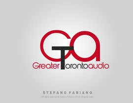 SteFabiano tarafından Design a Logo for Greater Toronto Audio için no 37