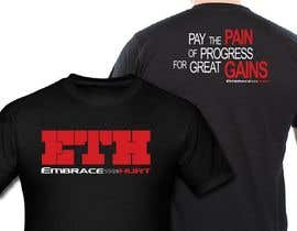 IndraYoga tarafından Design a T-Shirt for Embrace The Hurt için no 5