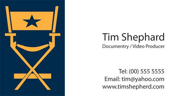 Contest Entry #30 for Business Card Design for Tim Shephard