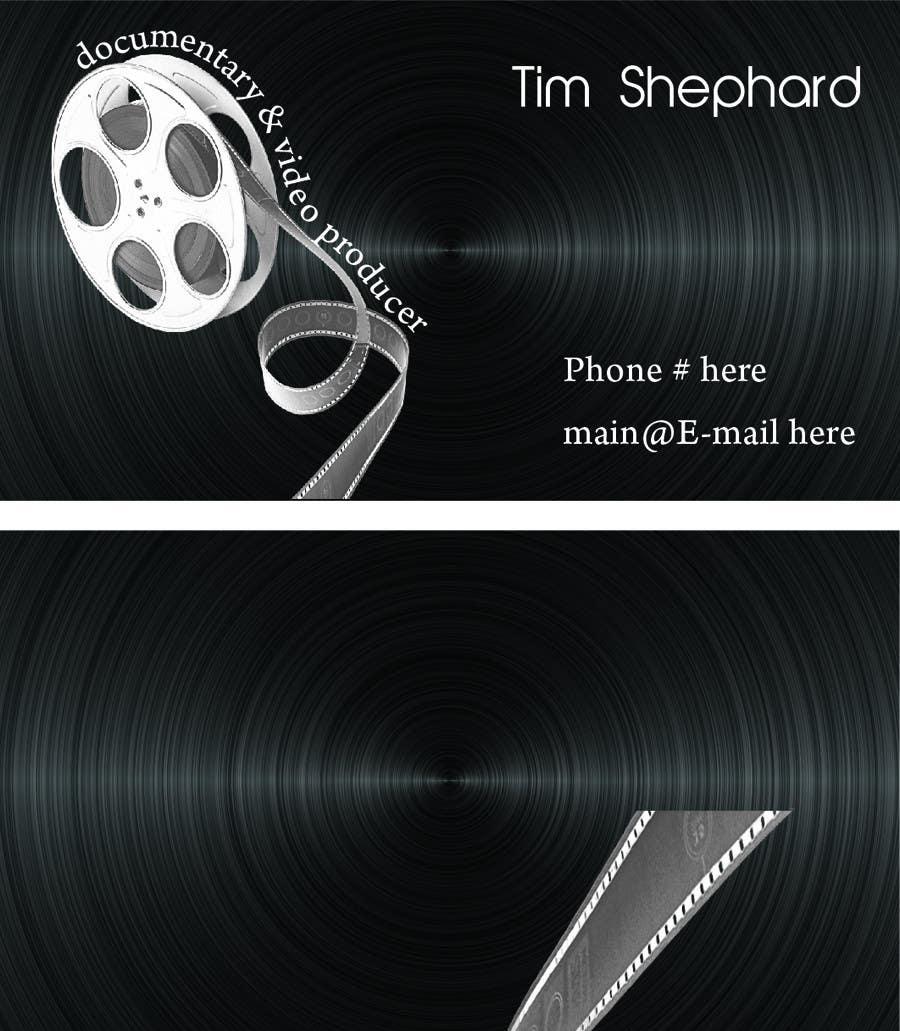 Konkurrenceindlæg #                                        48                                      for                                         Business Card Design for Tim Shephard