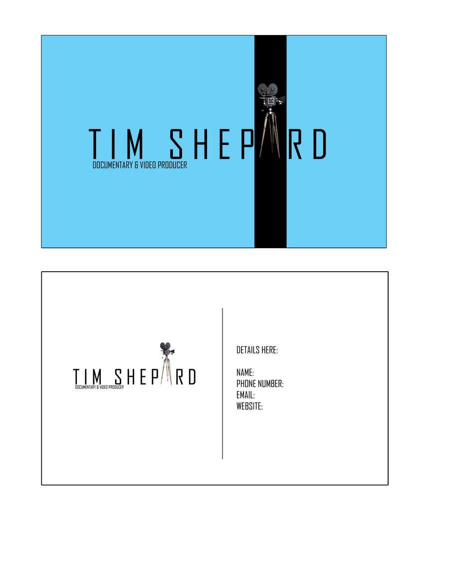 Konkurrenceindlæg #                                        34                                      for                                         Business Card Design for Tim Shephard