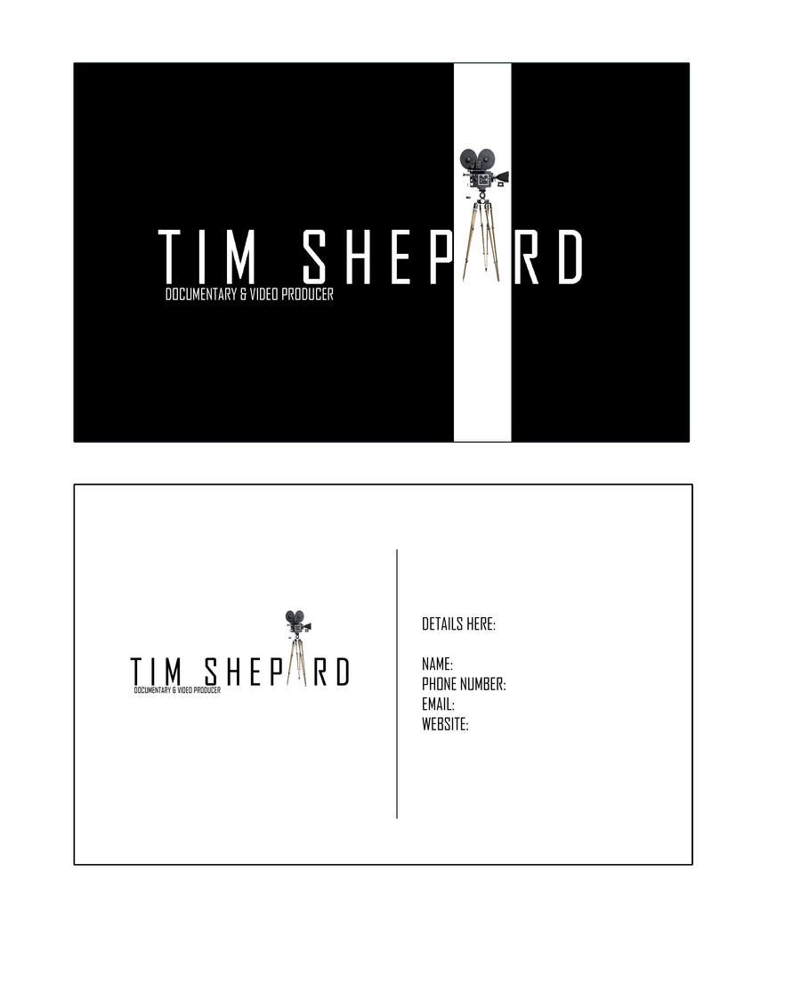 Contest Entry #36 for Business Card Design for Tim Shephard
