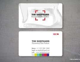 nº 54 pour Business Card Design for Tim Shephard par Anastasiy