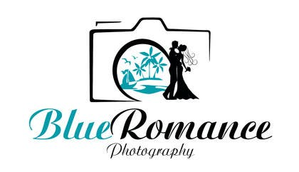 #23 untuk Design a Logo for Blue Romance Photography oleh darkavdarka