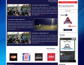 #10 for Dallas Roughnecks website design af ravinderss2014