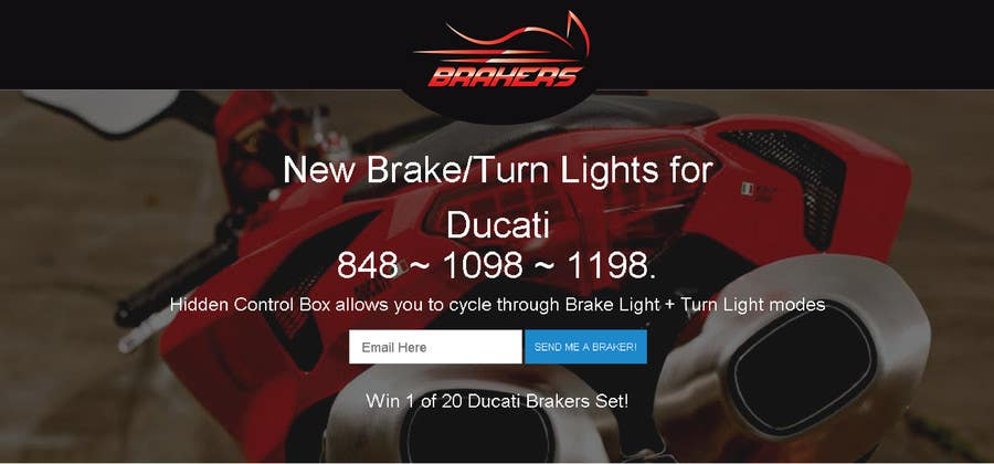 Contest Entry #                                        91                                      for                                         Design a Logo for Motorcycle Brake/Turn Lights Company