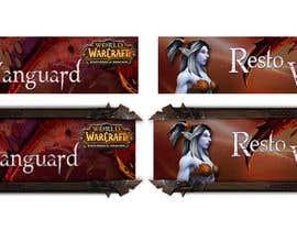 Nro 24 kilpailuun Design a Banner for my World of Warcraft Fan Website käyttäjältä MadaU