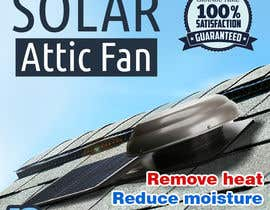 #35 for Solar Attic Fan Make Sexy Pop by taraskhlian