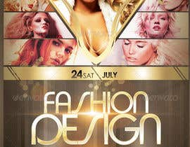 #19 cho Design a Flyer for Fashion Design Contest bởi apeterpan52