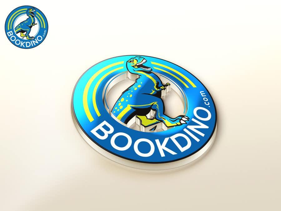 Penyertaan Peraduan #44 untuk Design a Logo for BOOKDINO.com