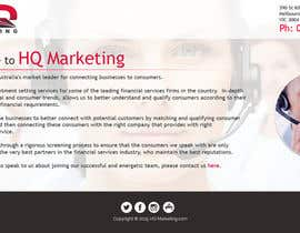 #20 for Build a Website for HQ Marketing af aryamaity