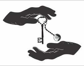 #10 para Design a Logo: key being passed from one hand to another por thomasstalder