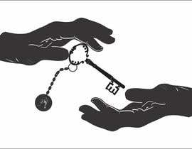 #11 untuk Design a Logo: key being passed from one hand to another oleh thomasstalder